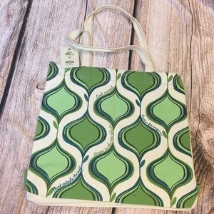 NWT Fossil Canvas Tote